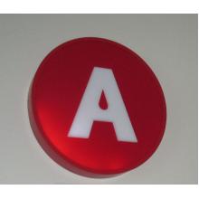 Jednostranná svetelná reklama - kruh